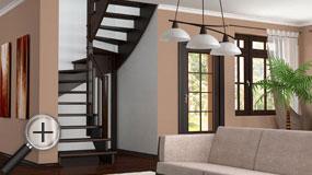 Лестницы из бука К-003м