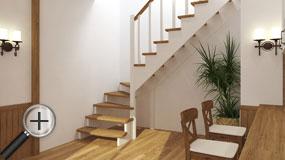 Лестницы из бука К-001м
